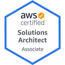 AWS Certified Solutions Architect - Associate - Badge
